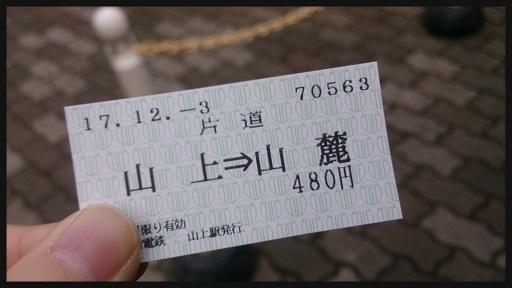 リフト 乗車券
